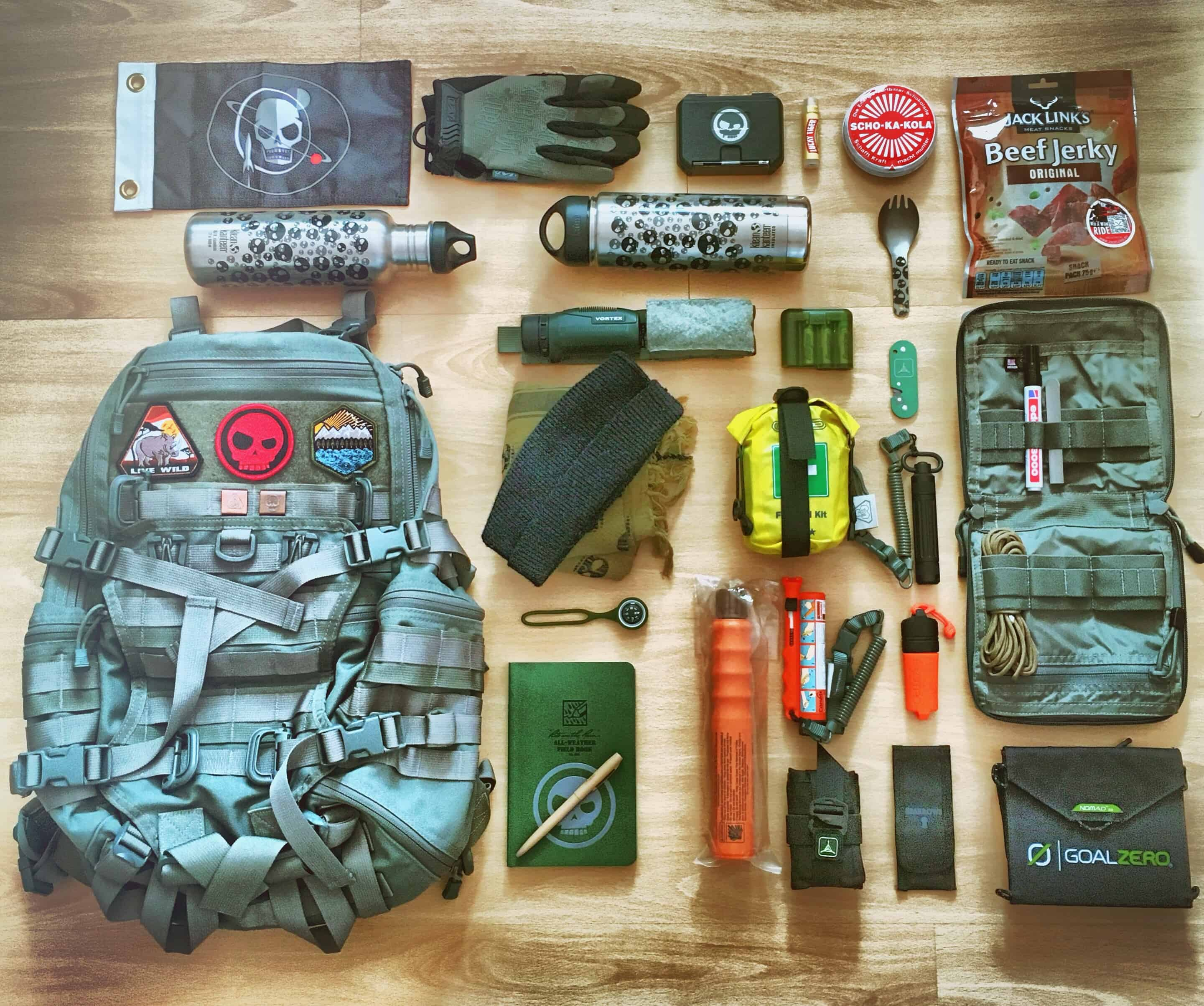 Loadout Delta Juliet Pack Pack Config
