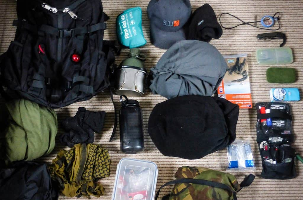 Loadout: Wet and Windy Day-Hike
