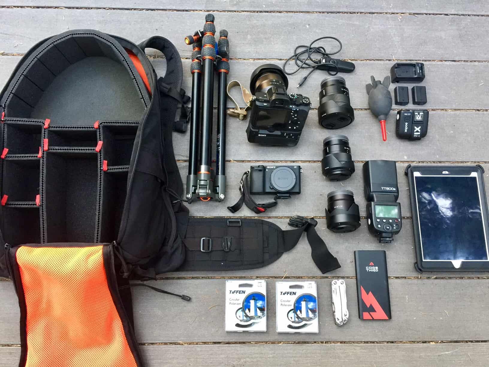"Loadout: SHADO ""Camera Bag"" FullSizeRender"