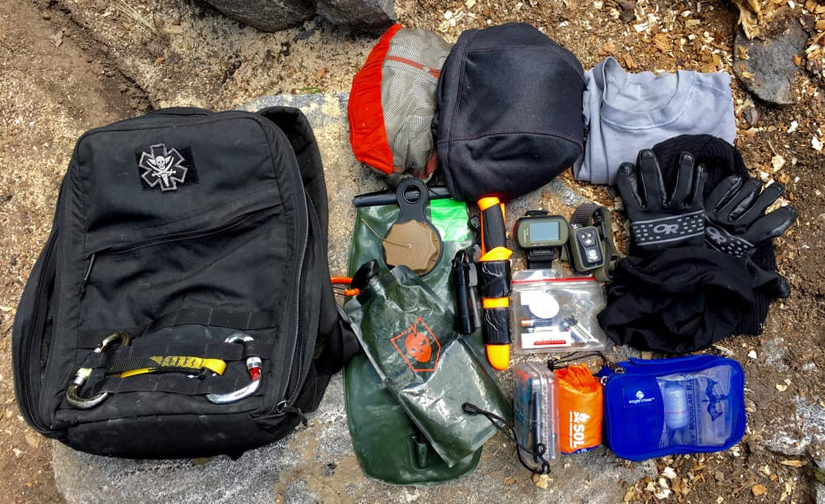Loadout Summiting 14er S Pack Pack Config
