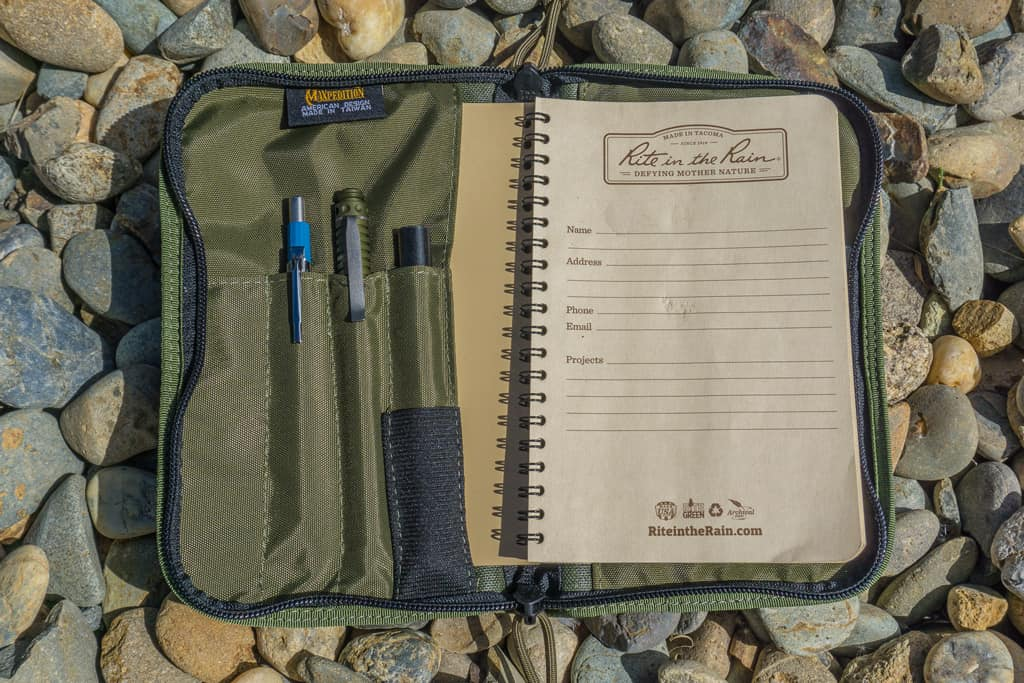 Pack Essential: Maxpedition Field Notebook Cover Notes-Cover-02