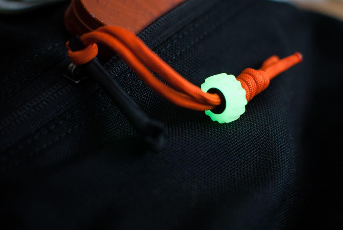 Ru-Marker Cog Bead RUBEAD_Orange