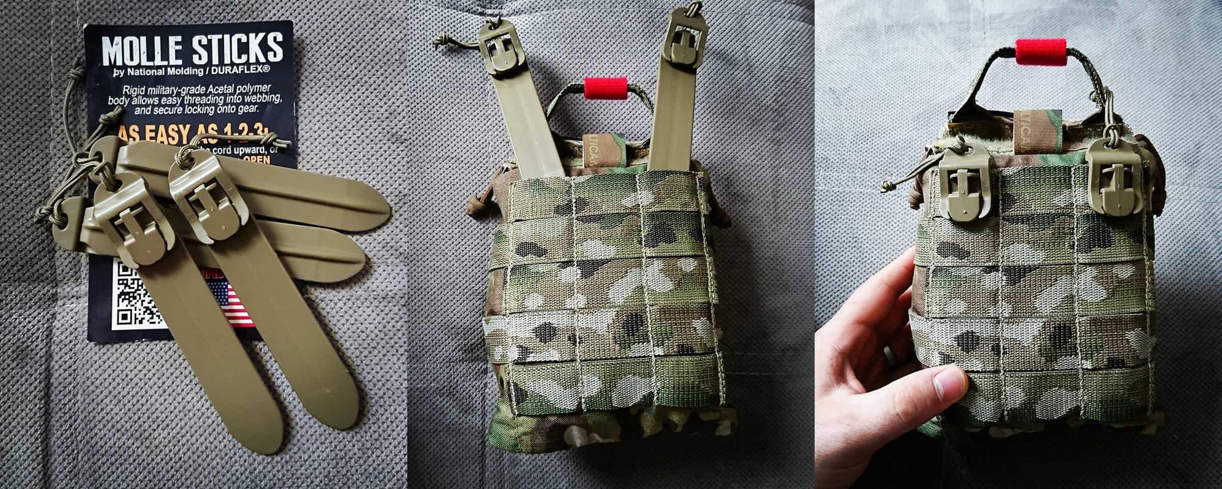 Pack Essential: MOLLE Sticks MOLLEStick-02