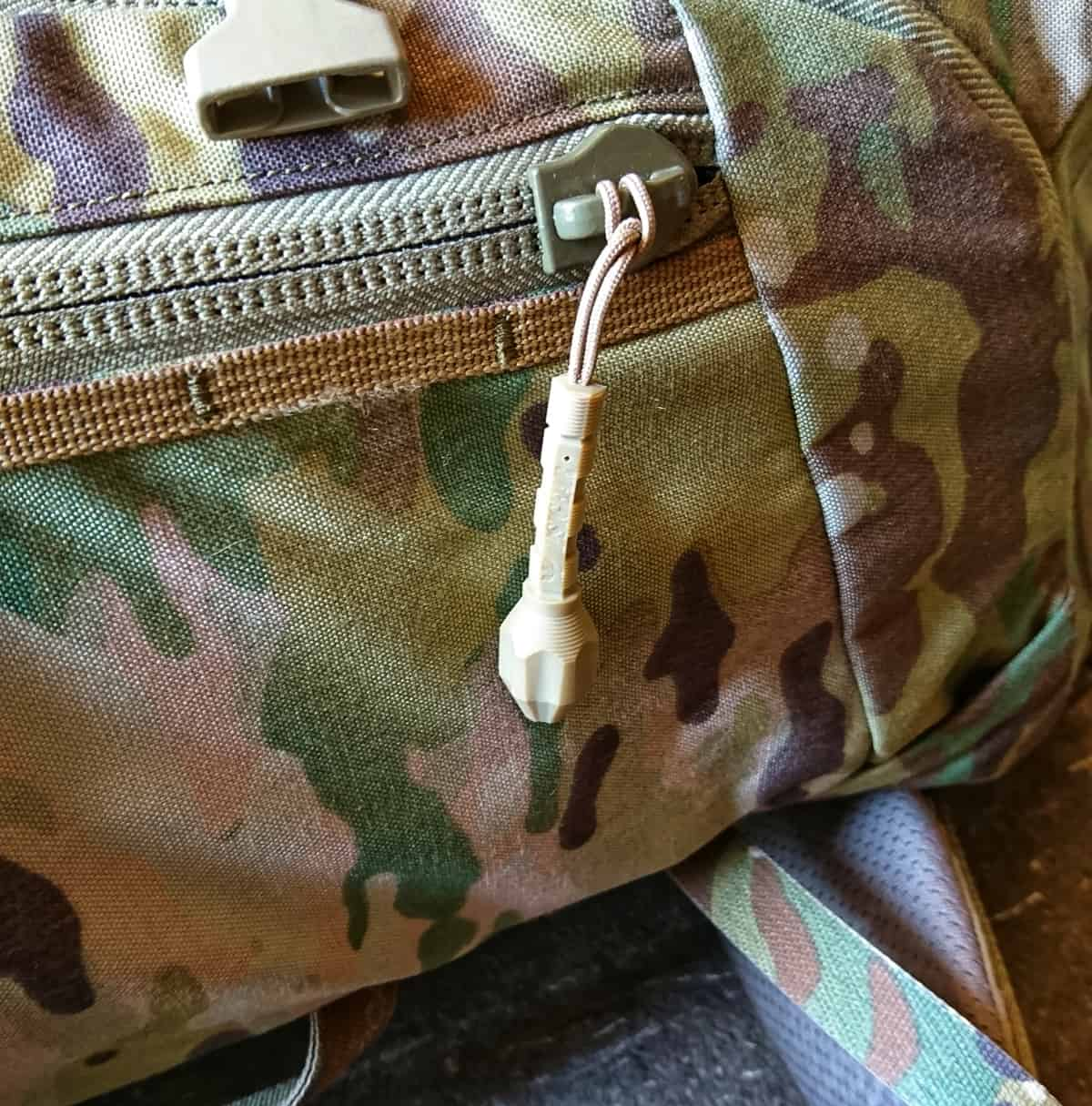 Loadout: Arc'teryx Assault EDC Detail_Zip