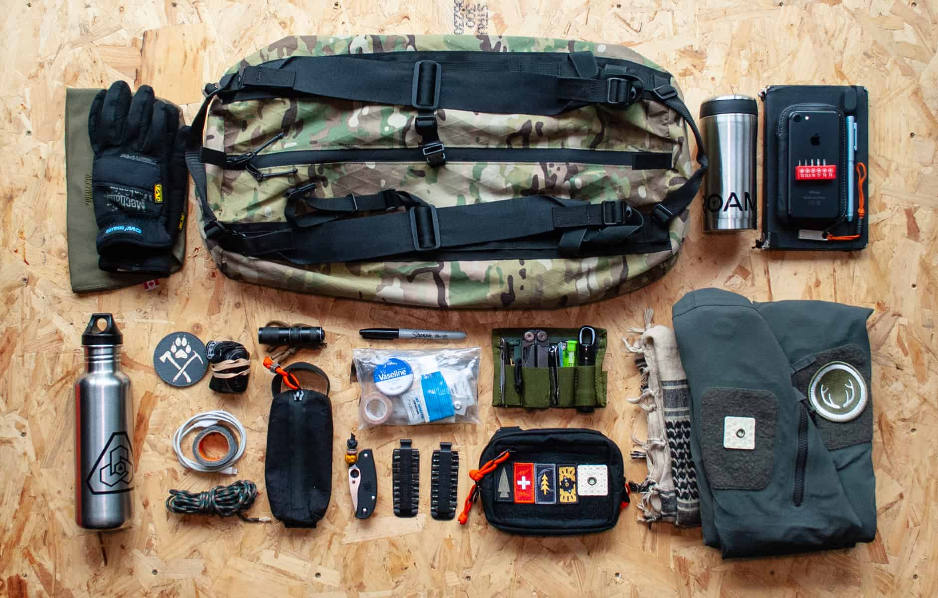 Loadout Cdw Adventure Duffle Pack Pack Config