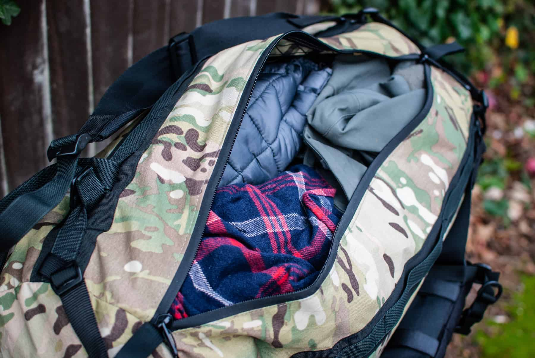 Review: Adventure Duffle Pack CDW_ADP_39_Padding