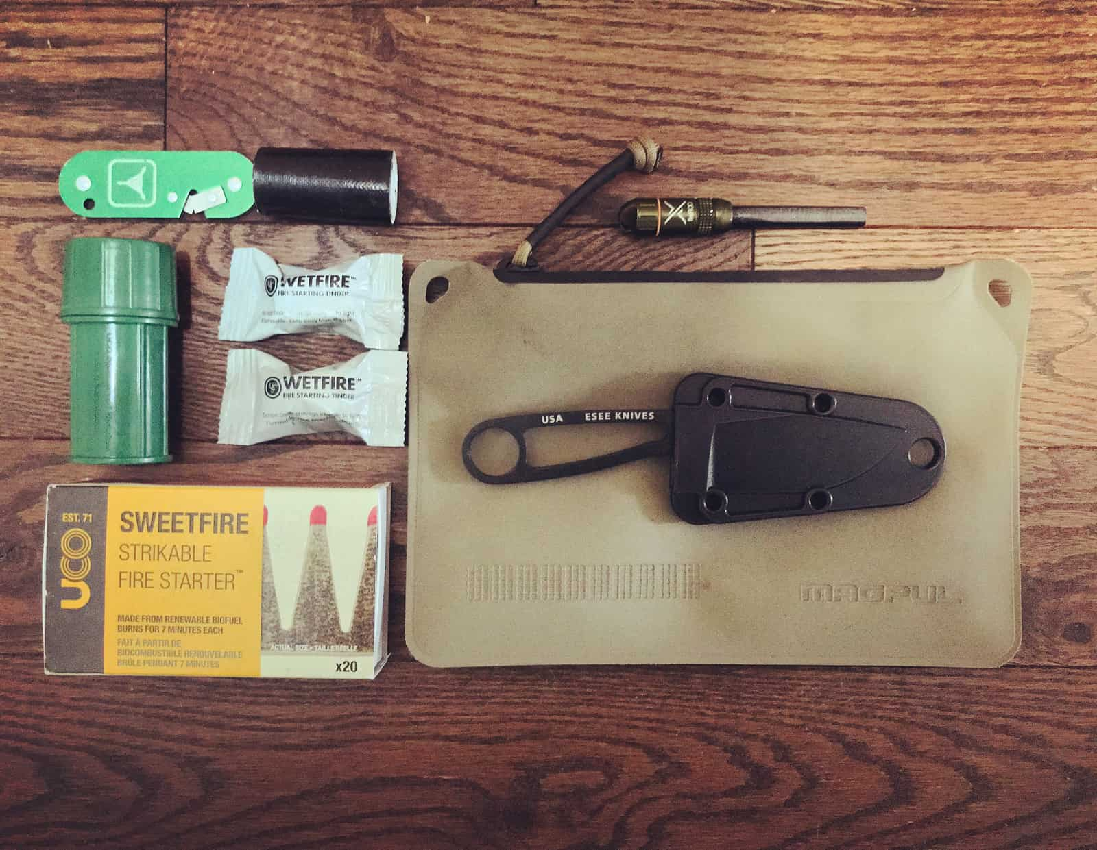 Loadout: Northern Fire Kit ken_jones_outdoors