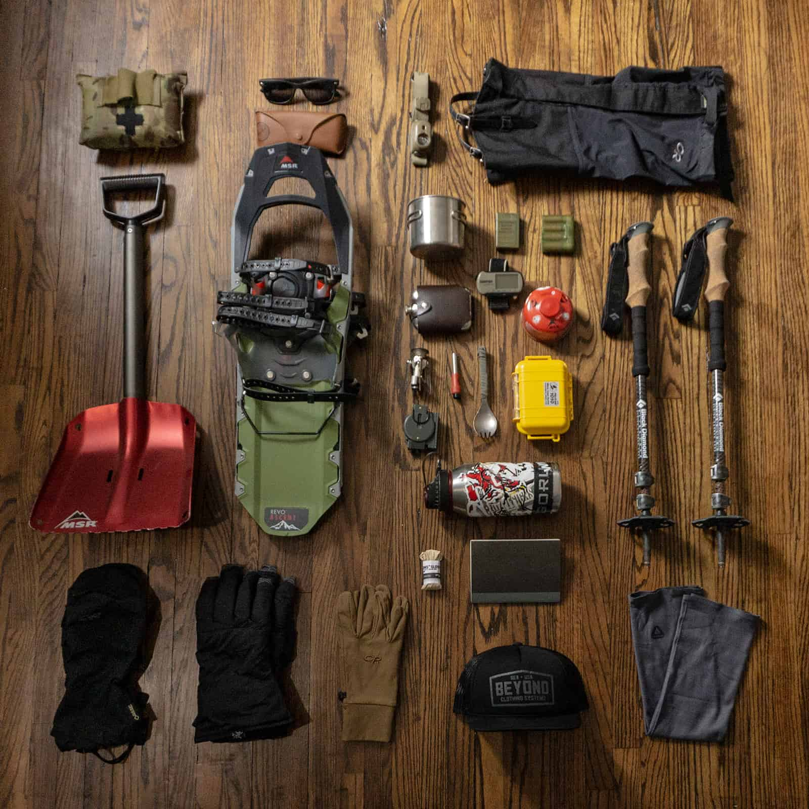 Loadout: Winter Day Hike OntarioLoadout