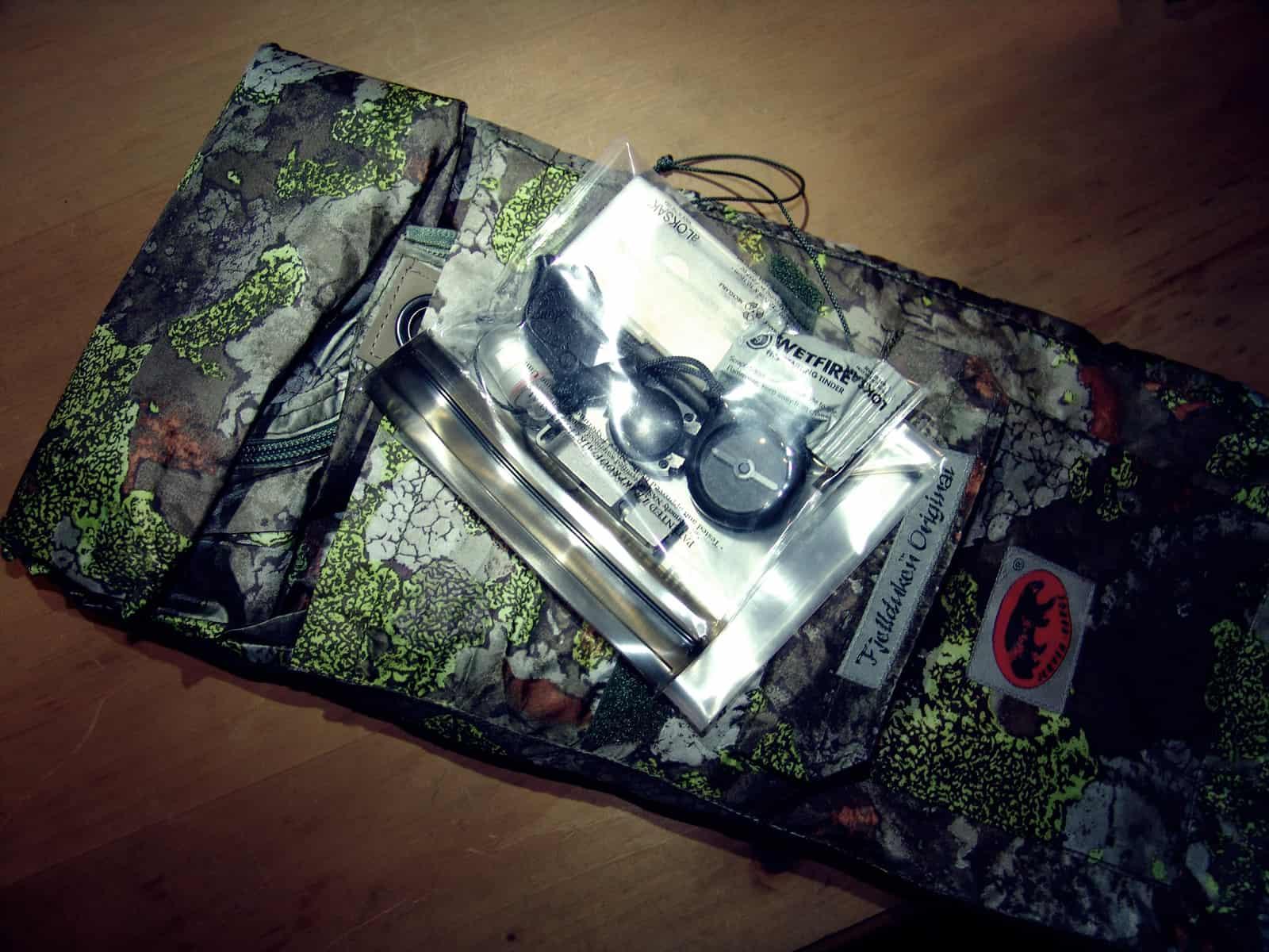 Minimalist Woodland Recon Kit pc7