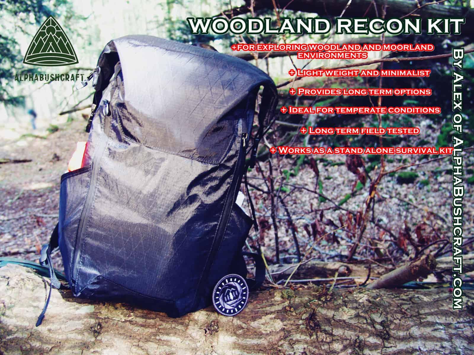 Minimalist Woodland Recon Kit pccover