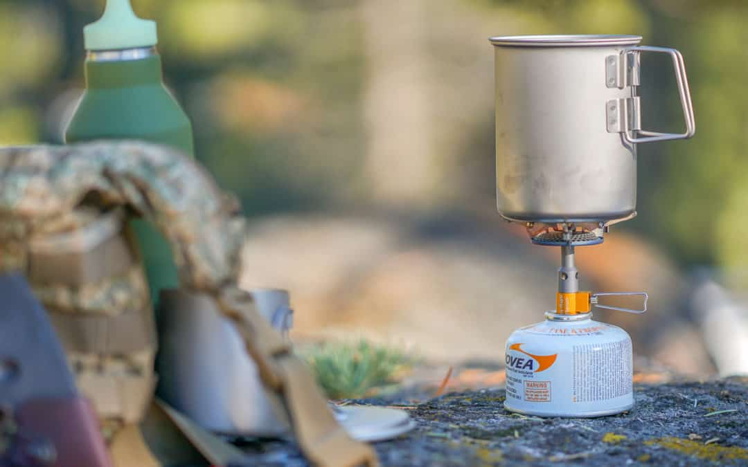 Pack Essential: Fire Maple Titanium Pocket Stove