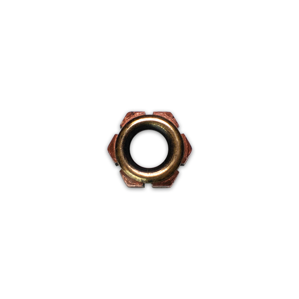 Copper Nut Bead
