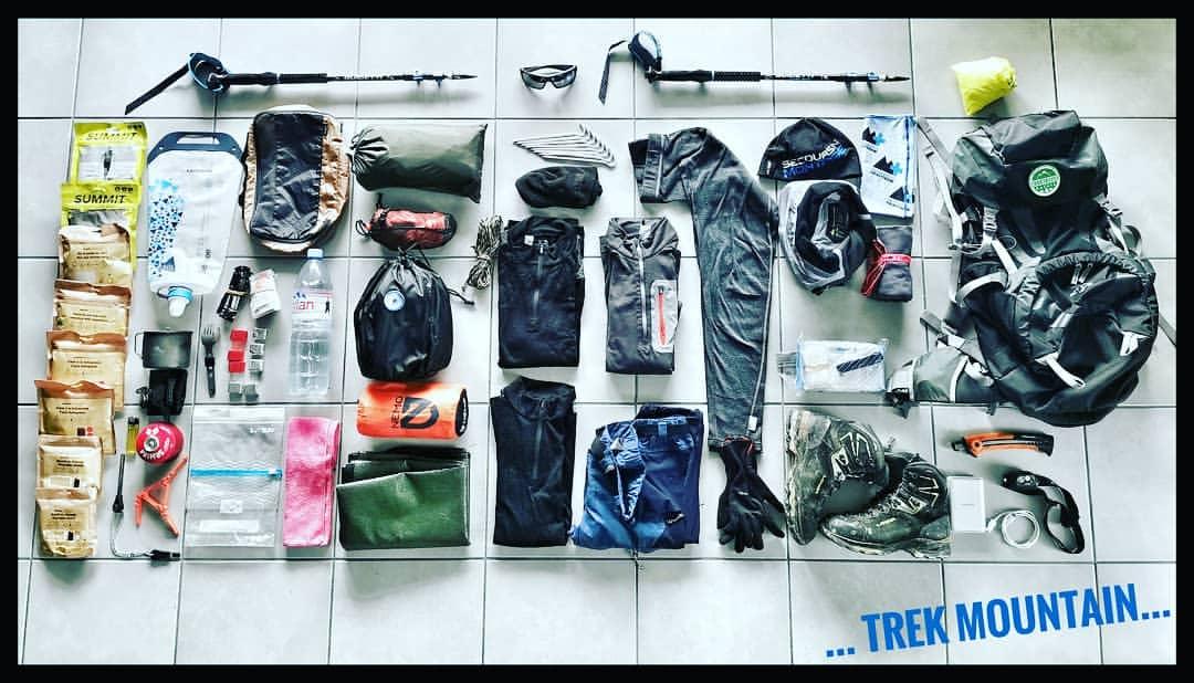 Loadout: 3 Day Mountain Trek