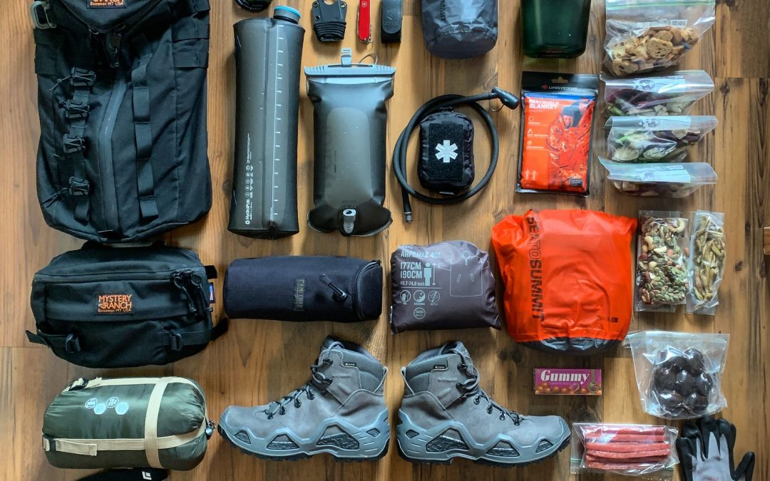 Loadout: 3 Day Hiking Pack